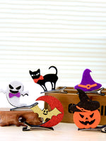 Halloween Creative Dress Up Children's Masquerade Party Decoration Stereo Headwear Pumpkin Hair Accessories Hair Clips