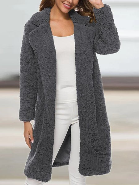 Cotton Shift Long Sleeve Outerwear