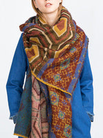 Flower Casual Scarves & Shawls