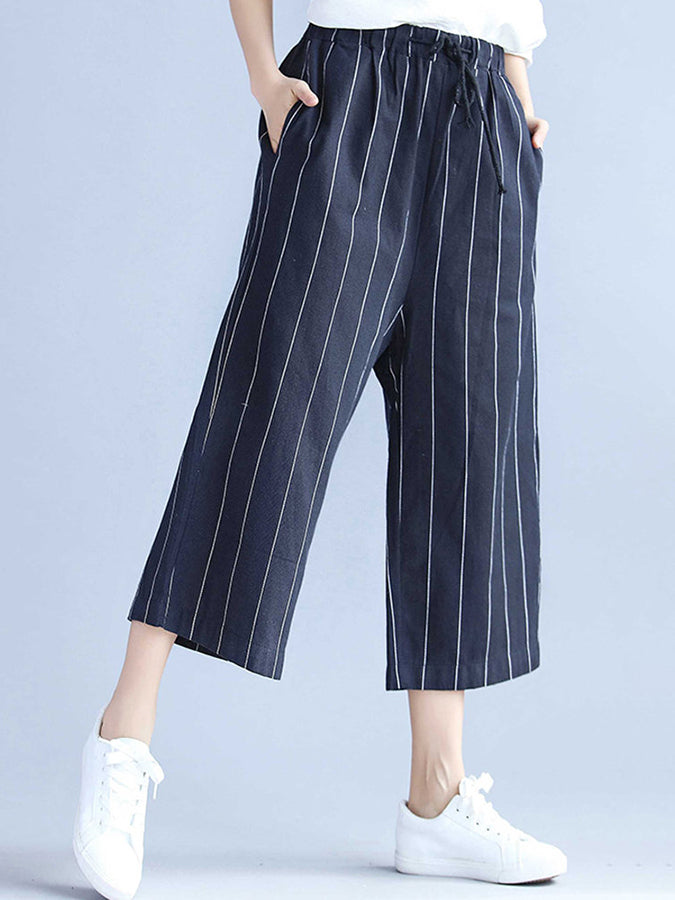 Casual Shift Cotton Pants