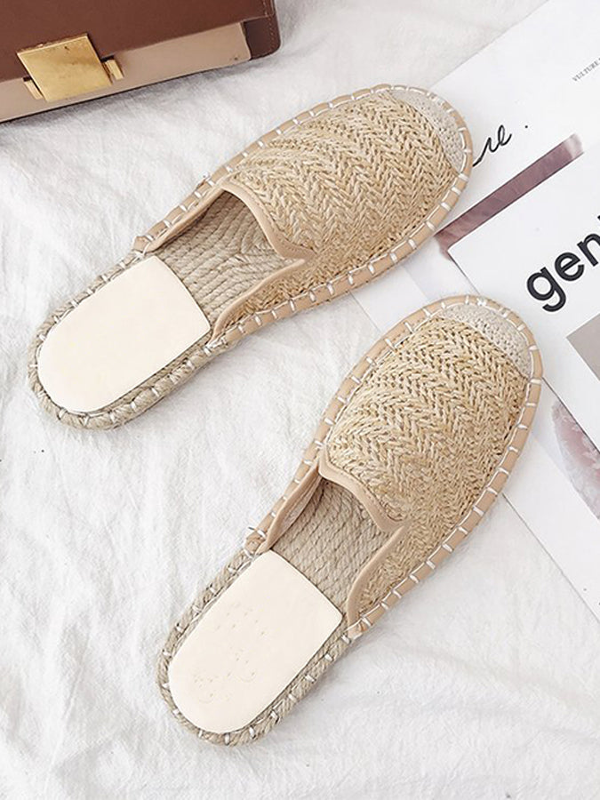 Flat Heel Casual Spring/fall Slippers