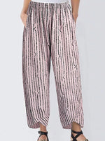 Striped Casual Pants