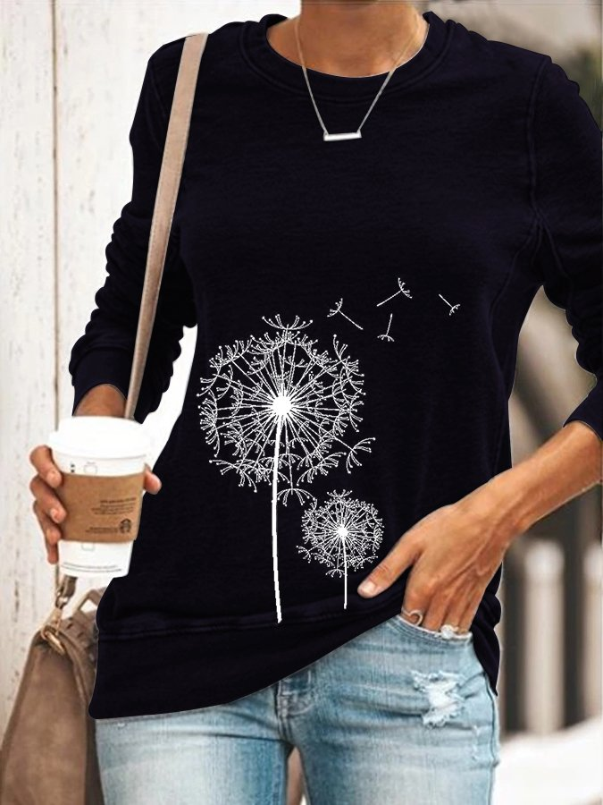 Casual Long Sleeve T-Shirt & Blouse