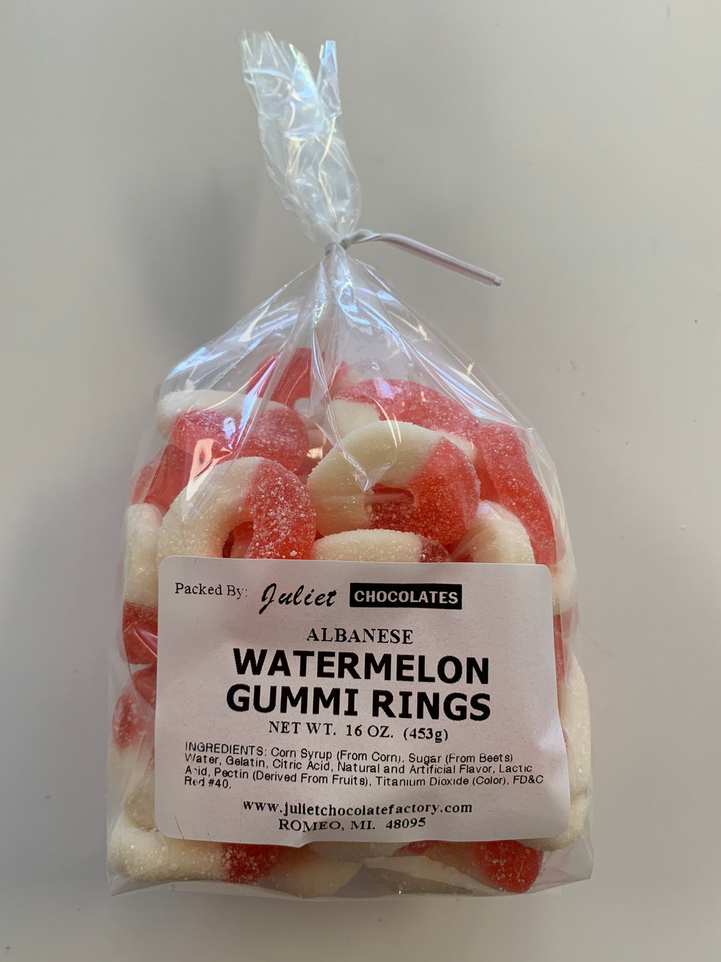 Watermelon Gummi Rings