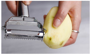 Multi-purpose Vegetable Peeler, Julienne Peeler & Grater