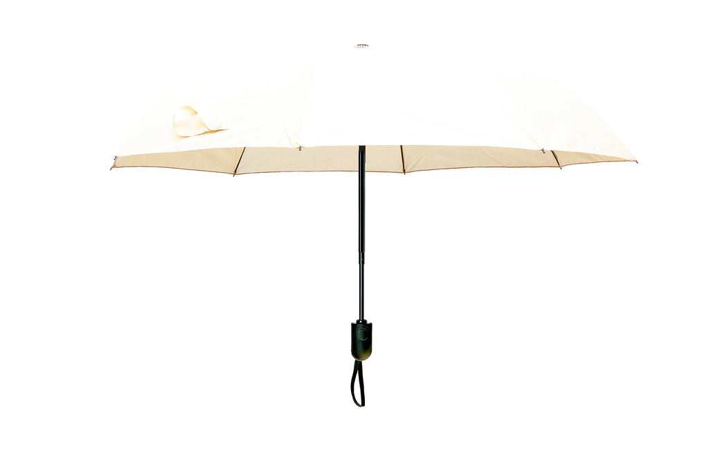 Smart Wind Reflex Umbrella - CREAM