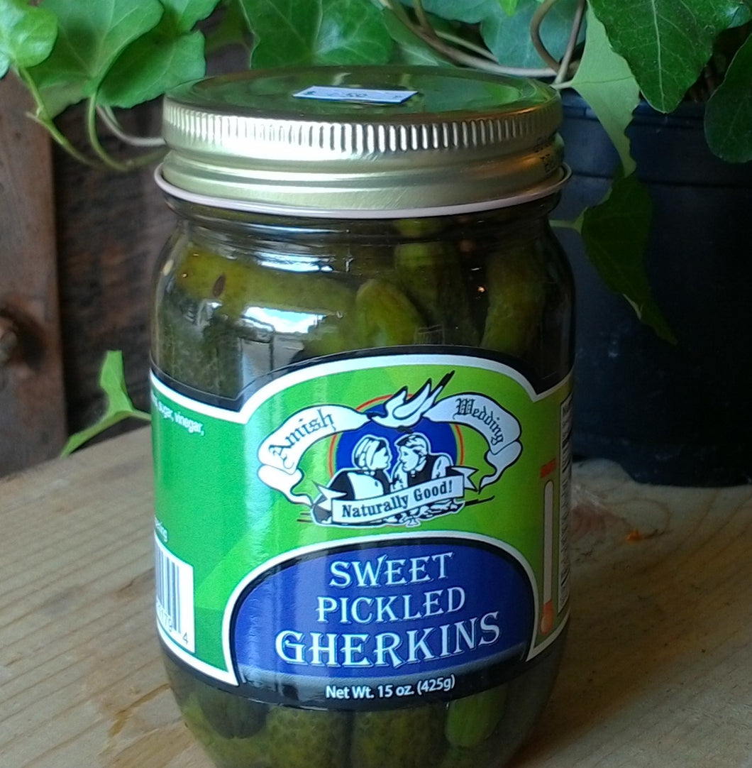 Sweet Pickled Gherkins