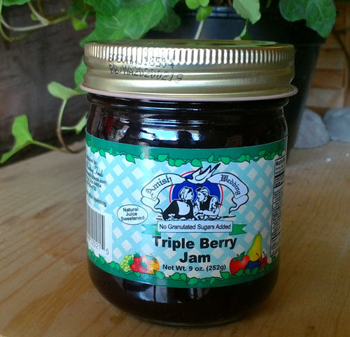 Triple Berry Jam No Sugar Added