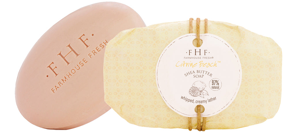 Citrine Beach Shea Butter Soap