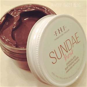 Sundae Best Chocolate Softening Mask
