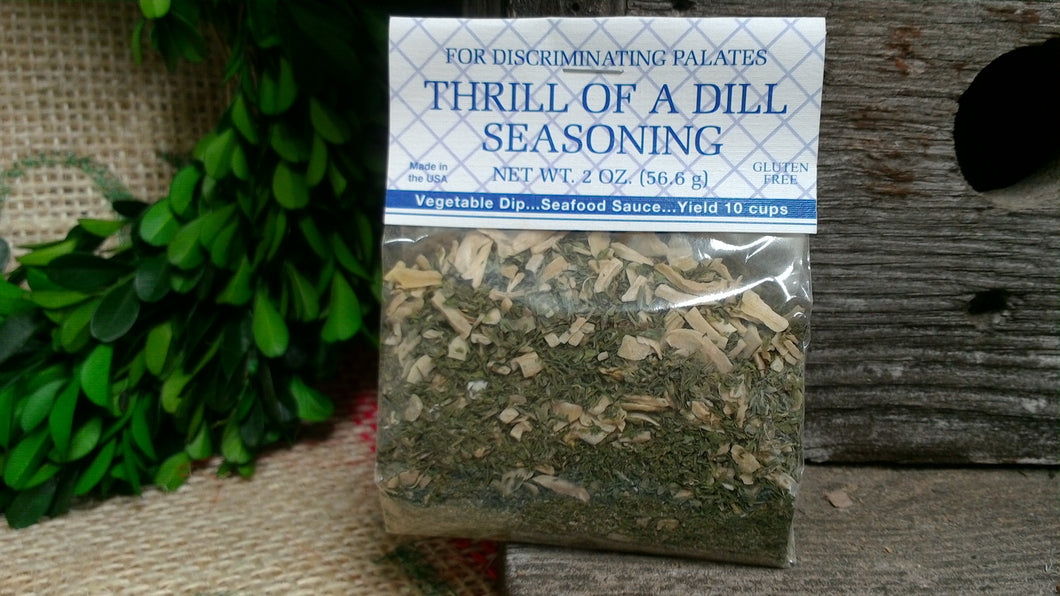Thrill of a Dill Seasoning