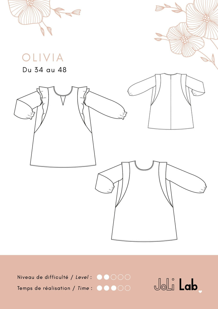 BOX OCTOBRE - Blouse Olivia - Joli Lab