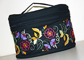 Free Crewel Makeup Case Pattern