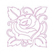 Free The Quilted Rose Design