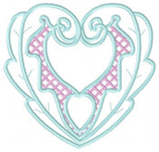 Free Cutwork Heart Design