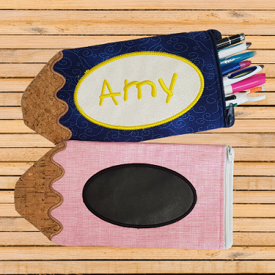 In The Hoop Pencil Case - Make yours Today!