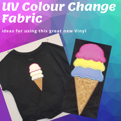 UV Colour Change Fabric - Designs that Change