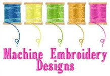 100's of Machine Embroidery Designs