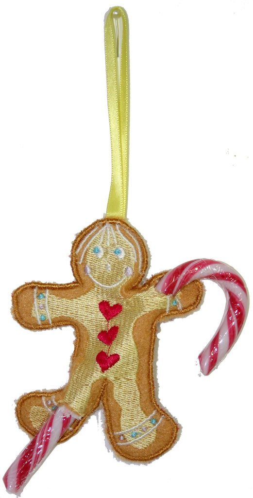 Christmas Gingerbread Candy Cane Holders