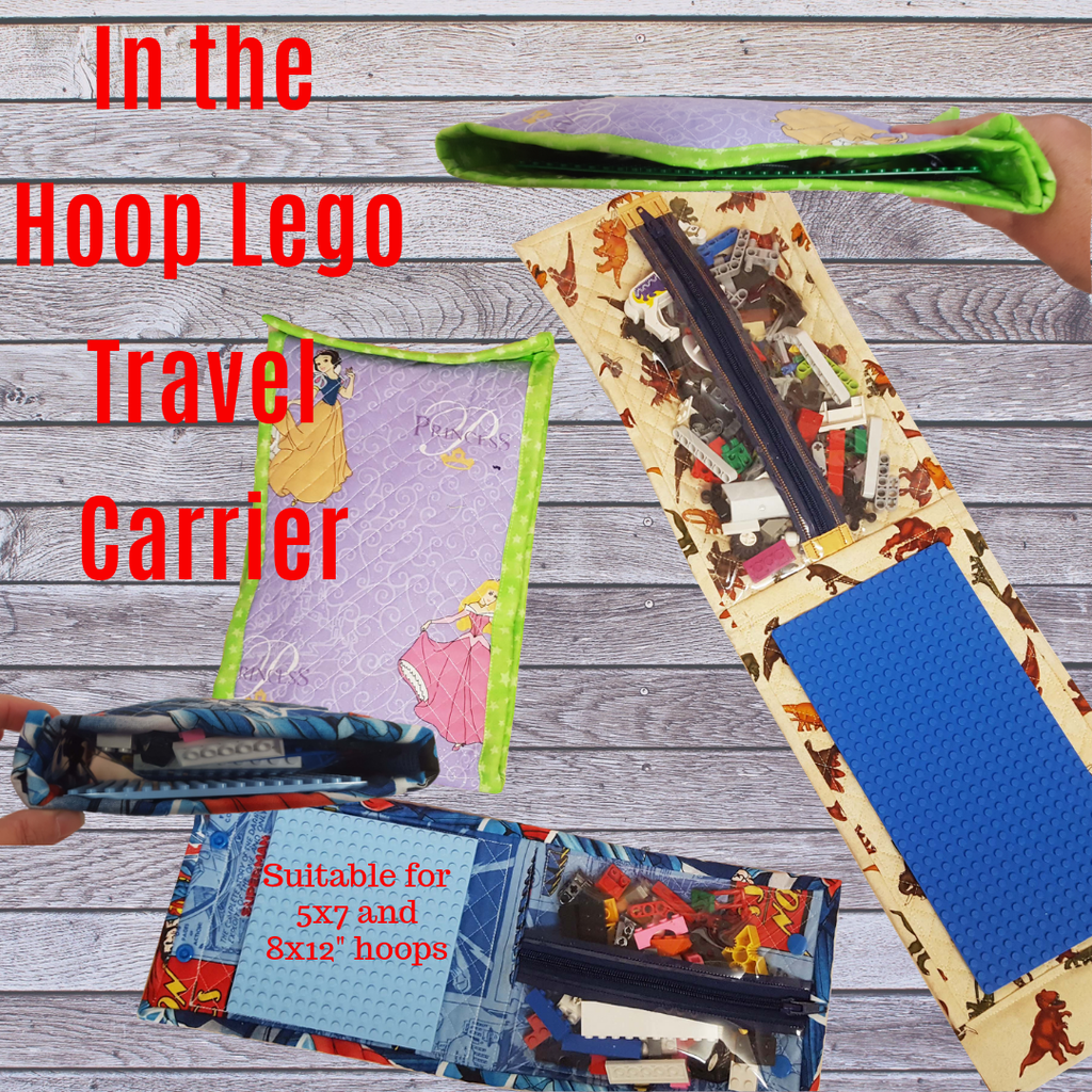 In The Hoop Lego Carrier