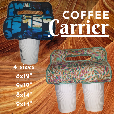 In The Hoop Coffee Carrier