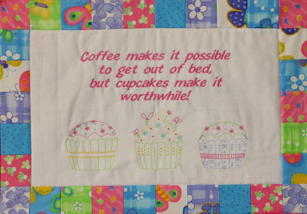 Cake it Away Wallhanging