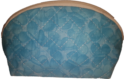In The Hoop Curved Zipper Pouch