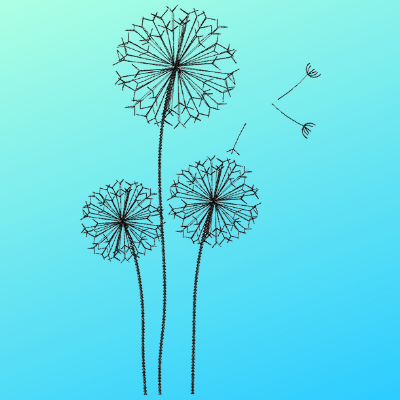 Dandelion Flower Single