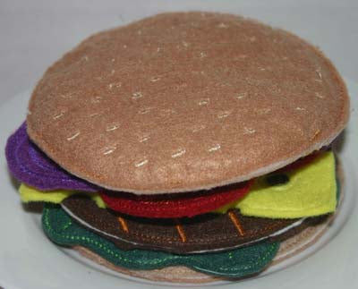 Playdorable Hamburger