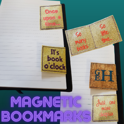 In The Hoop Magnetic Bookmark