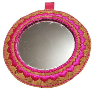 In The Hoop Mirror Fob