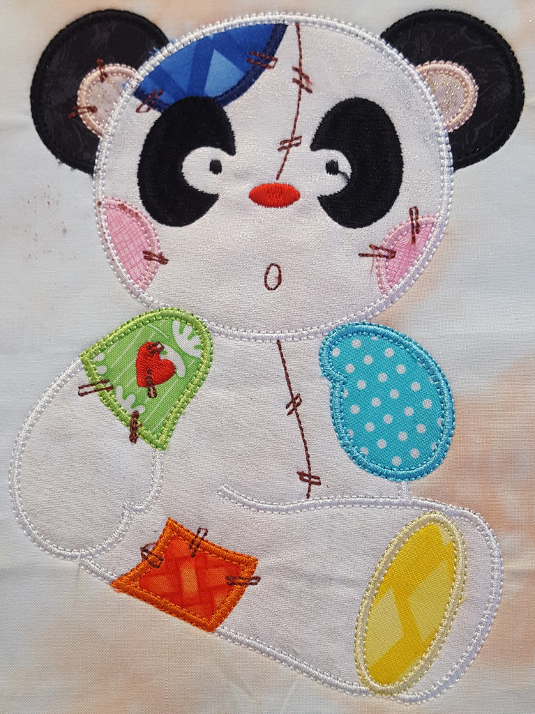 Patchy Applique Panda