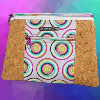 In The Hoop Double Zip Pretty Pouch
