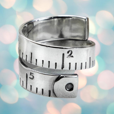 Tape Measure Ring