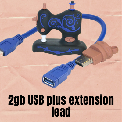 2gb USB plus extension Bundle
