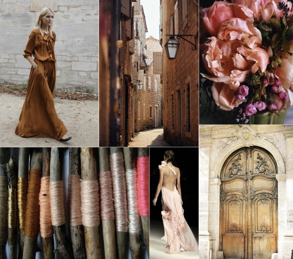 Pink And Brown Wedding Ideas: Vintage Wedding Love
