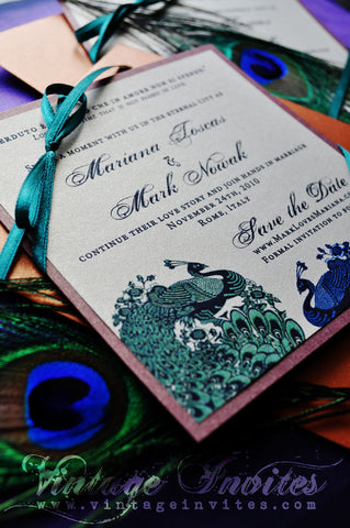 The Mariana Save the Date Card