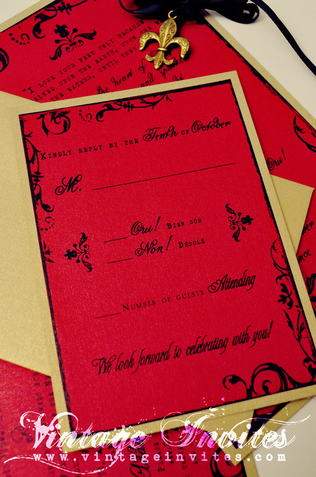 Vintage Wedding Love Vintage Invites Wedding Invitations for