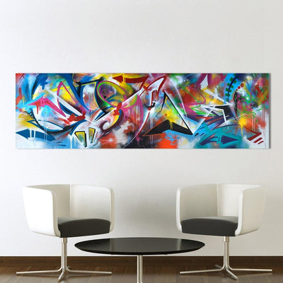 Graffiti Arrows Canvas Prints Muurvulling.nl