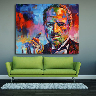The Godfather Canvas Prints Muurvulling.nl