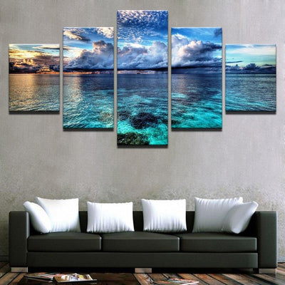Calm before the storm Canvas Prints Alisa Art Store
