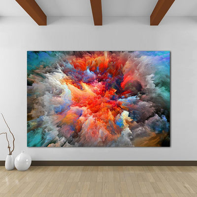 Colorful Clouds 2 Canvas Prints Muurvulling.nl