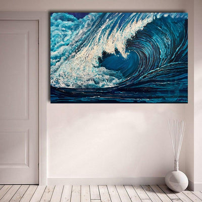 The Wave Canvas Prints Muurvulling.nl