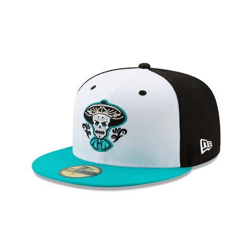 Albuquerque Isotopes Hat-Mariachis Teal On-Field