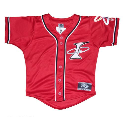 Albuquerque Isotopes Jersey-Red Replica