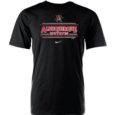Albuquerque Isotopes Tee-Core Black 176