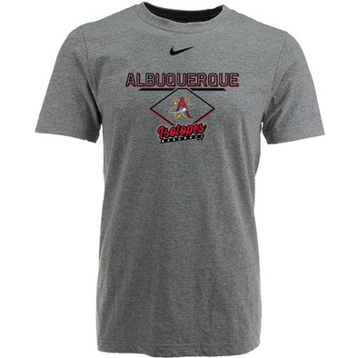 Albuquerque Isotopes Tee-Yth Core Gray 269