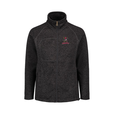 Albuquerque Isotopes Jacket-Wmn Sweaterfleece Zip