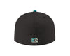 Albuquerque Isotopes Hat-Mariachis 5950 Black/Teal