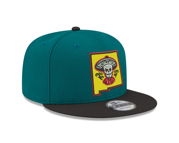 Albuquerque Isotopes Hat-Mariachis 950 Teal/Black